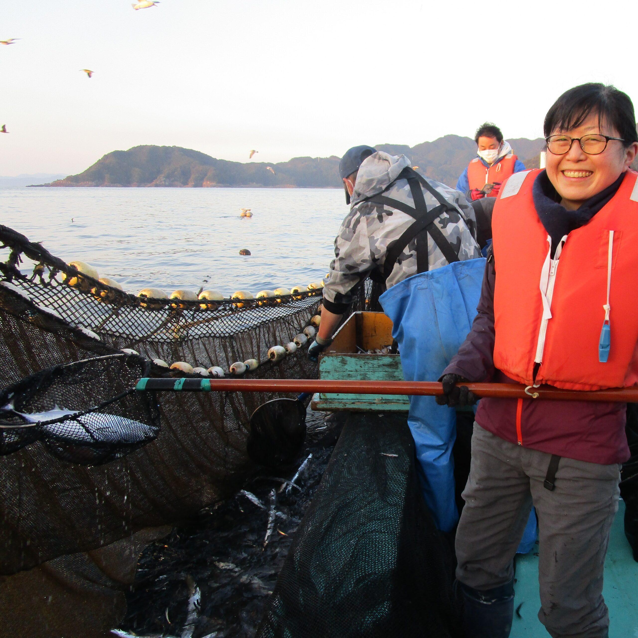 漁師さん体験+せり見学